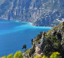 Amalfi Coast, Italy by Jennifer Lyn King