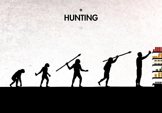 99 Steps of Progress - Hunting by maentis