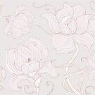 Gentle Magnolias by Mariya Olshevska