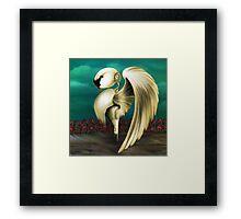 Swansone Framed Print