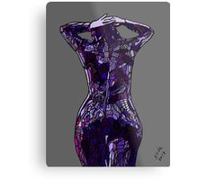 Purple Latex, 2014 Metal Print