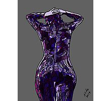 Purple Latex, 2014 Photographic Print
