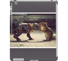 Grimlock vs Munkzilla iPad Case/Skin