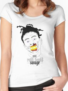 Robb Bank$ Women's Fitted Scoop T-Shirt