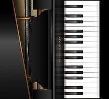 'Bosendipad' Grand Piano iPad Case by Alisdair Binning