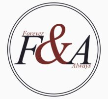 F&A - V. Blue&Red by Forever & Always