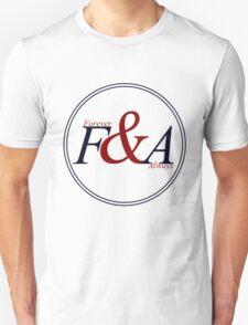 F&A - V. Blue&Red T-Shirt
