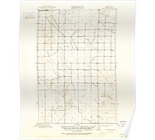 USGS Topo Map Washington State WA Winchester 244750 1910 62500 Poster