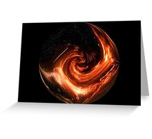 Outer Space Greeting Card