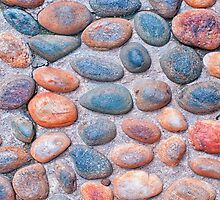 Pebbles - iPad case by Silvia Ganora by Silvia Ganora