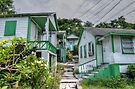 Little houses on Bennet's Hill - Nassau, The Bahamas by 242Digital