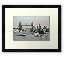 Tower Bridge, London Framed Print