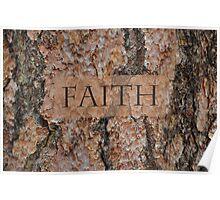 Faith Tree Poster