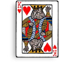 Moriarty, King of Hearts Canvas Print