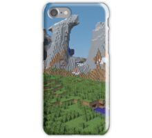 The Monument - Minecraft 3D Render iPhone Case/Skin