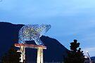 Light Bear Statue by Allen Lucas