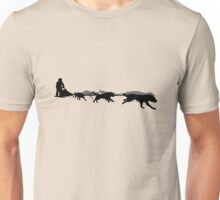 Husky - dog sled - Yukon Quest - Alaska  Unisex T-Shirt