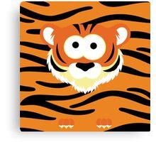 Minimal Tiger Canvas Print