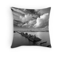 Clouds over Houthaven Throw Pillow