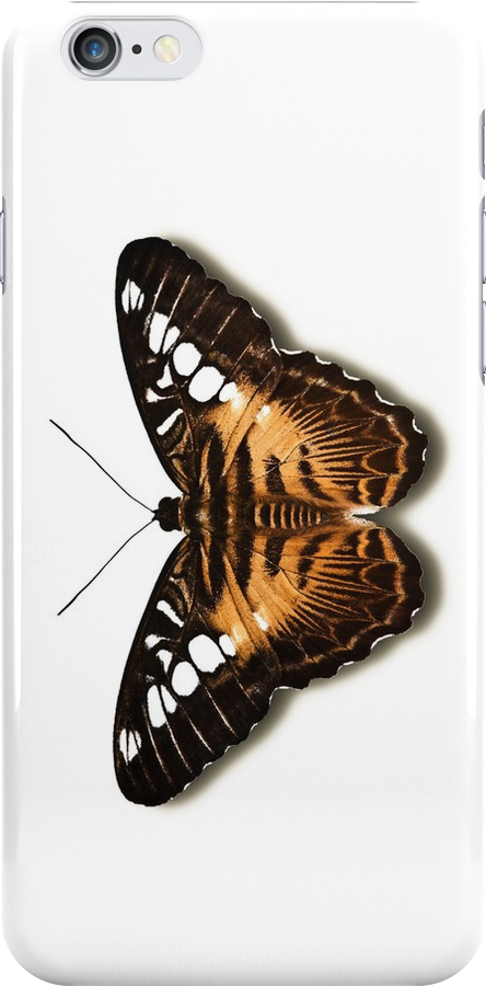 Smartphone Case - Butterfly - Brown Clipper by Mark Podger