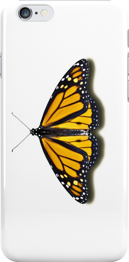Smartphone Case - Butterfly - Monarch by Mark Podger