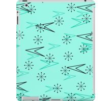 Turquoise Atomic Arrows, Fifties, iPad Case iPad Case/Skin