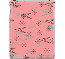 Vintage Pink, Atomic Retro Arrows, iPad Case iPad Case/Skin