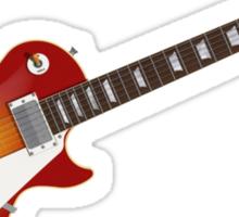 Sunburst Electric Guitar Sticker