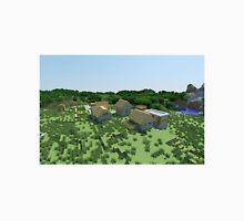 The Village - Minecraft Landscape T-Shirt