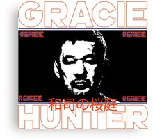 the gracie hunter Canvas Print
