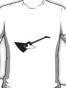 Black Electric Guitar T-Shirt