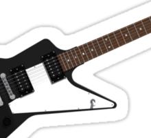 Black Electric Guitar Sticker