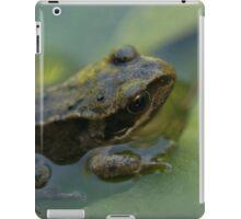 Frog! iPad Case/Skin