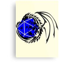 Dungeons and Dragons - Black and Blue! Metal Print