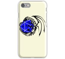 Dungeons and Dragons - Black and Blue! iPhone Case/Skin