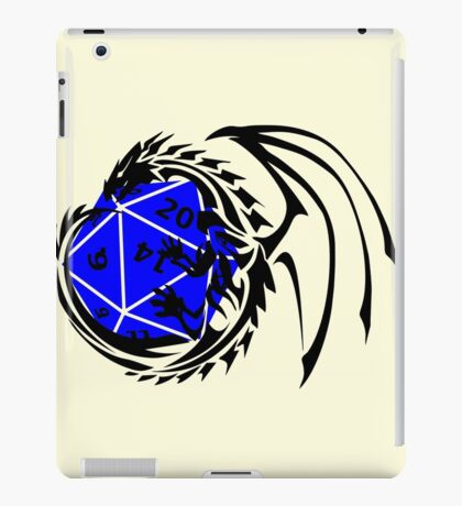 Dungeons and Dragons - Black and Blue! iPad Case/Skin