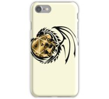 Dungeons and Dragons - Black and Gold! iPhone Case/Skin