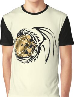 Dungeons and Dragons - Black and Gold! Graphic T-Shirt