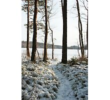 Store Mosse in the winter Photographic Print