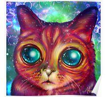 Alien cat Matilda Poster