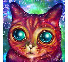 Alien cat Matilda Photographic Print