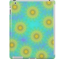 Yellow Kaleidoscope Flowers iPad Case iPad Case/Skin