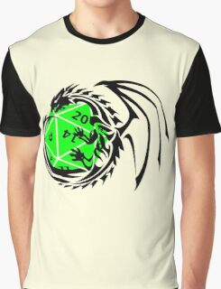Dungeons and Dragons - Black and Green! Graphic T-Shirt