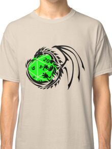 Dungeons and Dragons - Black and Green! Classic T-Shirt