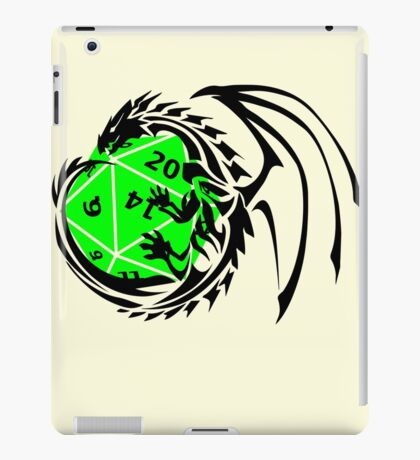 Dungeons and Dragons - Black and Green! iPad Case/Skin