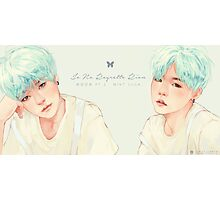 Mint Yoongi Photographic Print