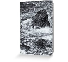 Rocks,  Point Van  2012 Greeting Card