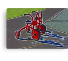 Trikes Canvas Print