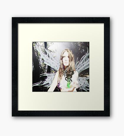 Dragon Magic Framed Print