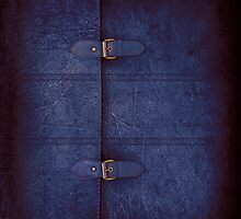 Blue Leather Satchel by Alisdair Binning